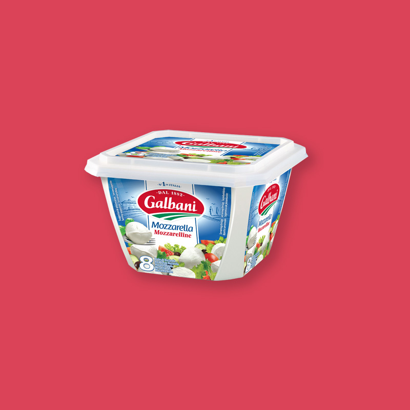 Galbani Mozzarella Mozzarelline 8×25 g